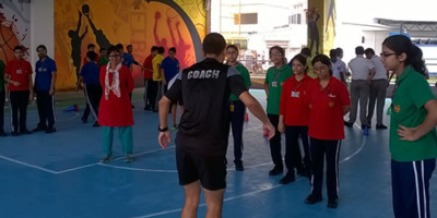 German football Academy Training session at IVWS