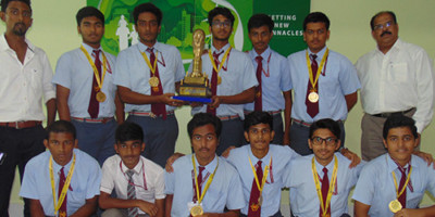 IVWS Wins The Champion's Trophy At The War Of Gladiators Football Tournament