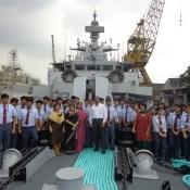 Visit to Garden Reach Ship Yard