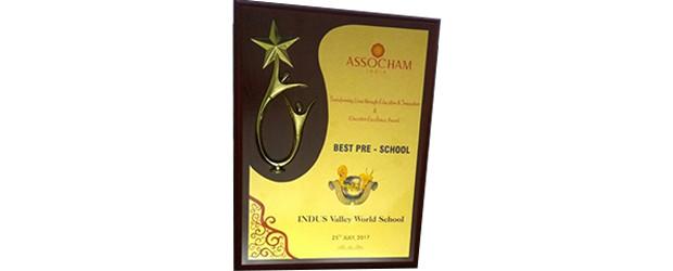 IVWS wins the BEST PRE-SCHOOL AWARD
