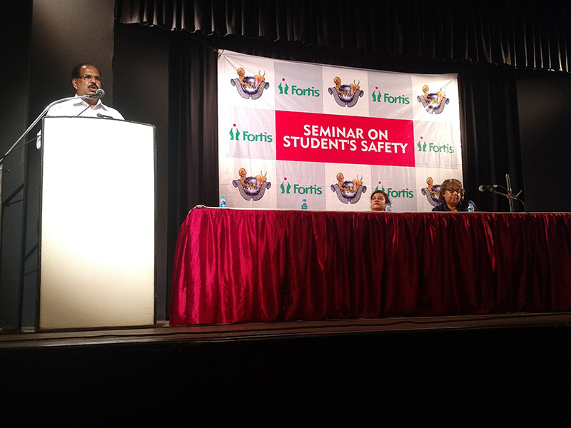 Seminar On Student Safety On And Off School Campus