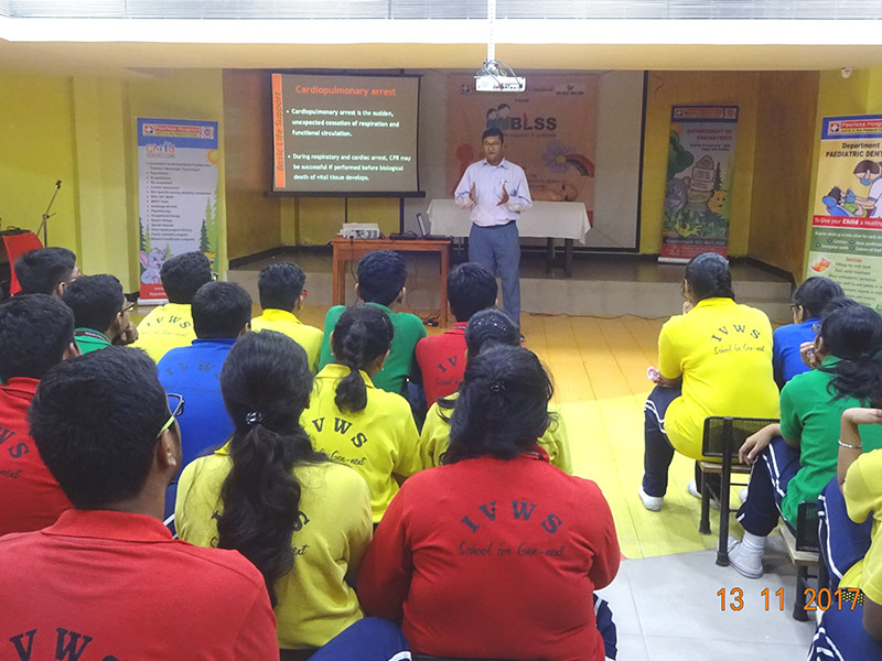 Trauma & Emergency Management Workshop At Indus Valley World School In Association With Peerless Hospital
