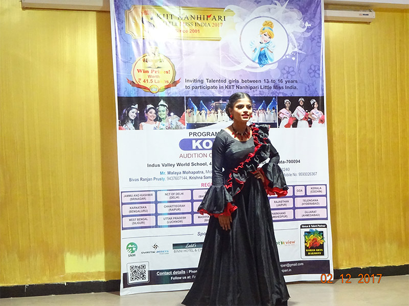 Little Miss India Auditions Hosted at Indus Valley World School
