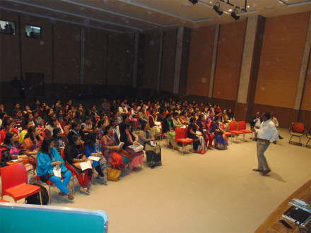 On 22nd December 2017, all the teaching and non-teaching (office) staff came together under the able guidance of Dr A Senthil Kumaran, Chief confluence, at 'LEARNERS CONFLUENCE', Bangalore, in order to reflect, learn and look forward to the awaiting challenges of taking care of children.