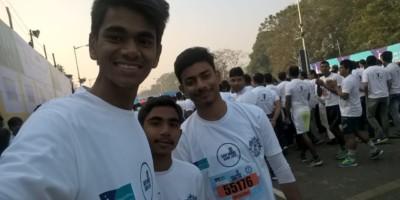 Kolkata Police Half Marathon On Safe Drive Save Life 2018