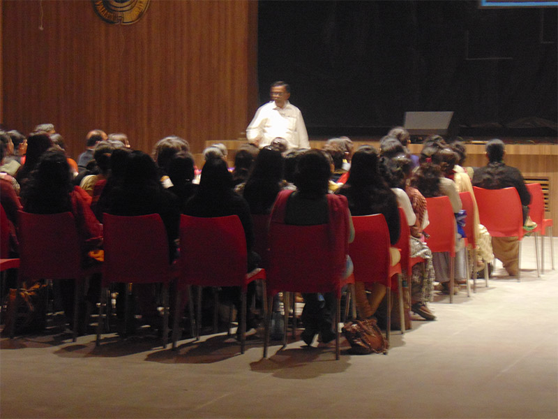 Workshop For Teachers At IVWS