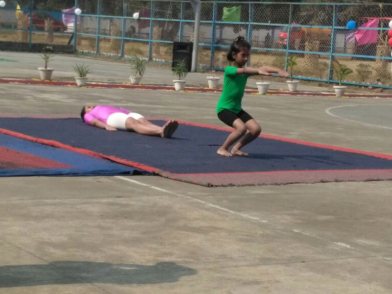 Inter school Yoga Competition