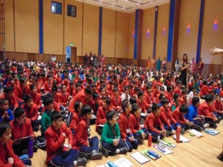 Indus Valley World School organized a workshop on