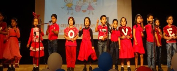 Indus Valley World School celebrated Valentine's Day on 14th February in a unique manner.