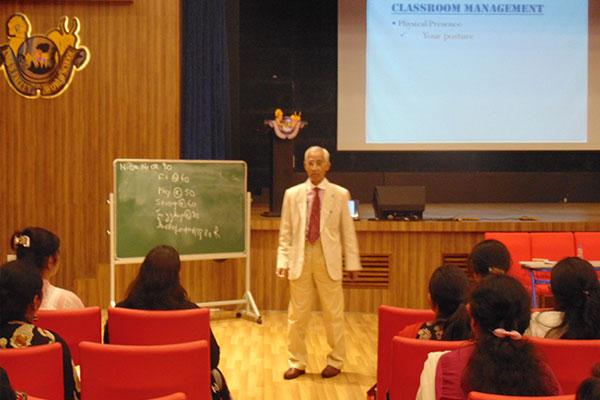 Workshop By Professor Ashok Ganguly