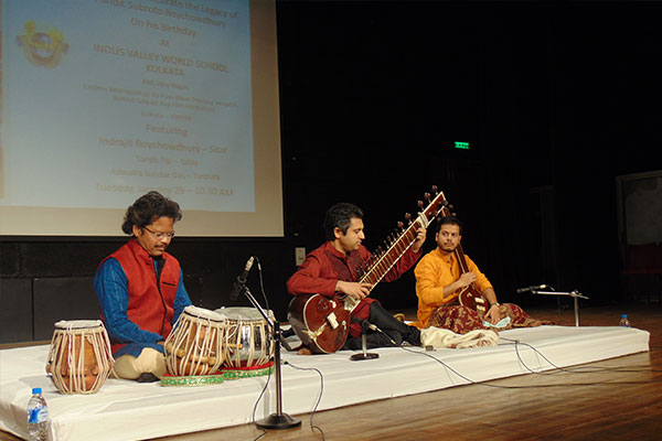 Sitar Recital at Indus Valley World School