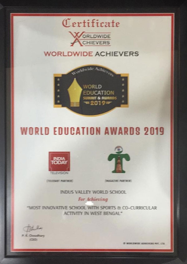 World Education Award 2019