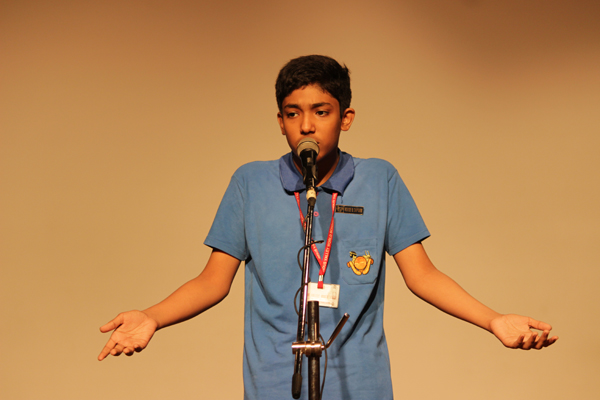 Inter-House Elocution Competition