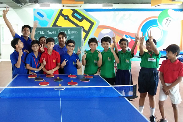 Inter House Table Tennis Tournament
